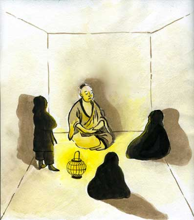 Buddha and men